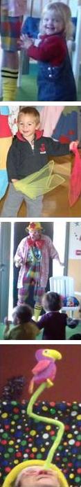 Toto le Clown présente son spectacle pour les touts petits, spécial crèche